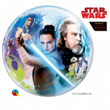 "Star Wars Last Jedi Bubble Balloon (22"") 1pc"